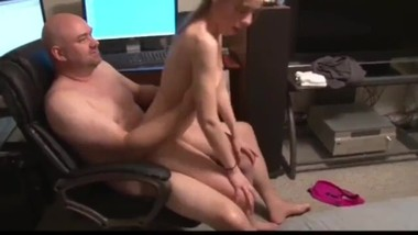 18yo tiny stepdaughter likes painful anal sex with her stepdad