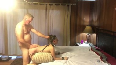 Stepdad used hard his naughty 18yo stepdaughter in hotel apartment