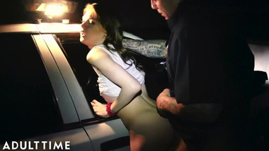 ADULT TIME Police Chief's Daughter is Busted & Punished