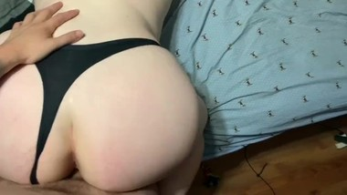 Step dad bends me over and fucks me