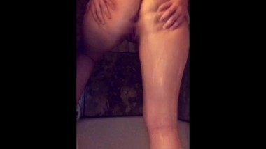 Ass Shaking Shower Snapchat- Young Montana