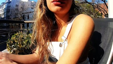 AMAYA SORNI OUTDOOR 19 YEARS OLD SPANISH WEBCAMMER
