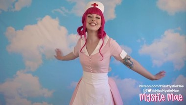 Nurse Joy Cosplay Teaser - Mystie Mae