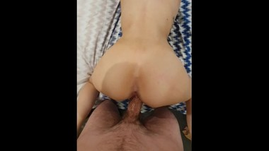 Skinny Teen Blonde Cums On My Long Cock - fucking my annoying ex