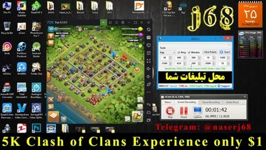 Clash of Clans 130k Exp in 1 Day
