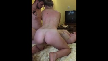 Fucked the girl BF in front of her husband