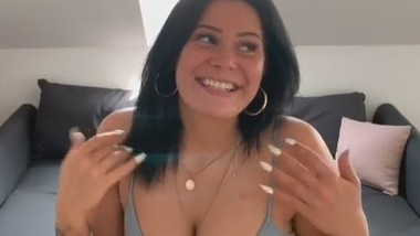 My first Video. I Introduce myself. Big Tits Amelieb.
