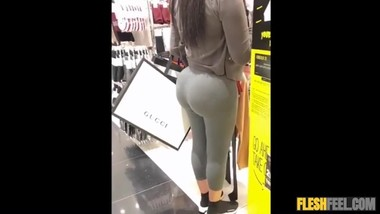 great ass in spandex