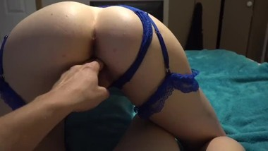 Young College Slut Sucks & Fucks Big Cock