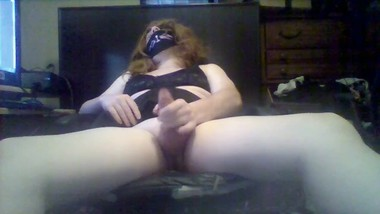 Femboy Pleasures himself and moans