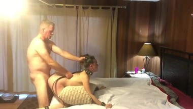 Stepdad with big cock fucked hard his tiny 18yo stepdaughter