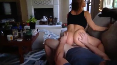 Big booty stepsis gets amazing creampie from her stepbrother with big dick