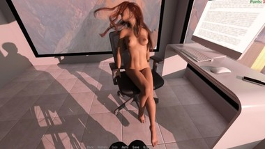 The Personal Assistant - Rachel, Naked Lapdance