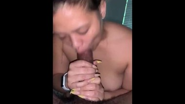 Latina sucking dick sloppy