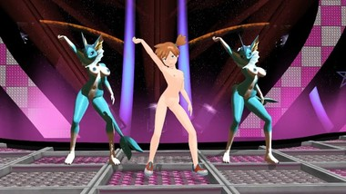 MMD Pokemon Misty and Her Vaporeons Put on a Performance