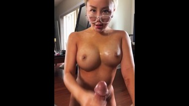 Perfect Asian Teasing Edging POV