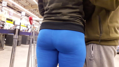 ASS IN SPANDEX LEGGINGS
