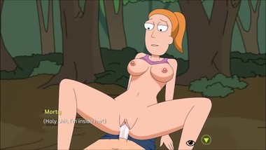 Rick and Morty Summer sex scene