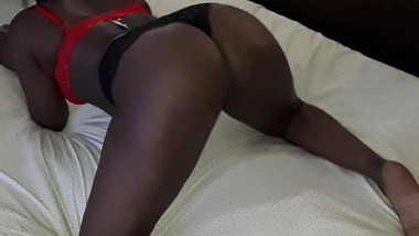 Twerking and bouncing my black ass