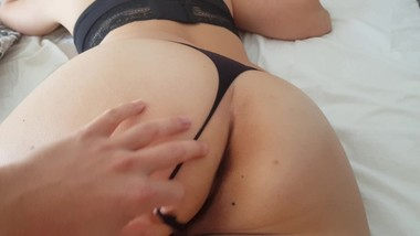 Fucking Step Sister while resting- POV - with Creampie - Family Therapy