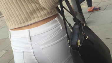Nice Teen White Jeans